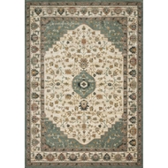 Magnolia Home Evie Rug by Joanna Gaines - Ivory & Jade