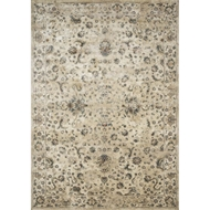 Magnolia Home Evie Rug - Ivory & Multi by Joanna Gaines