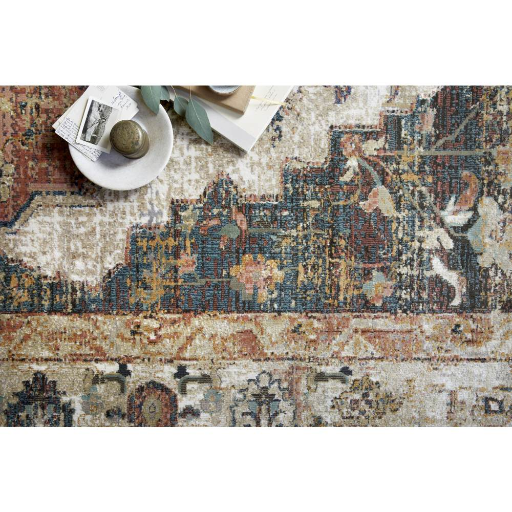 Magnolia Home Evie Rug - Ivory & Spice by Joanna Gaines