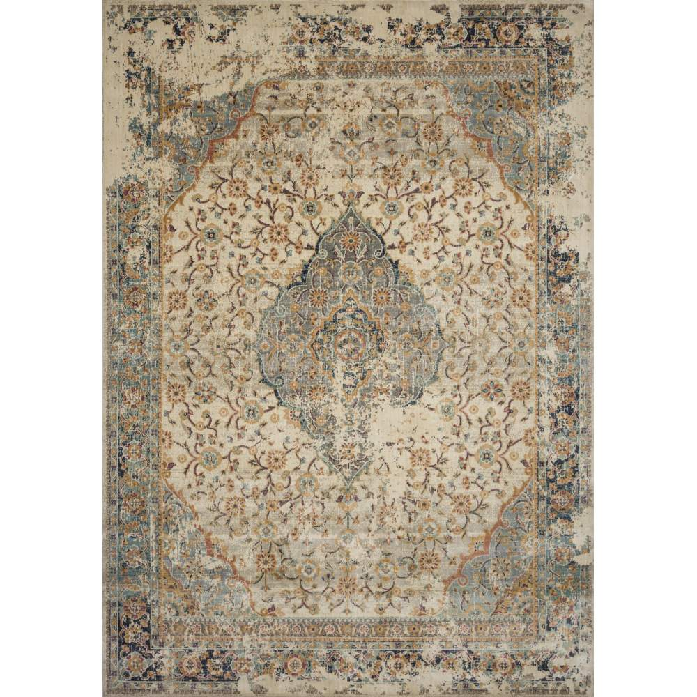Magnolia Home Evie Rug - Sand & Multi by Joanna Gaines
