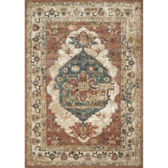 Magnolia Home Evie Rug by Joanna Gaines - Spice & Multi