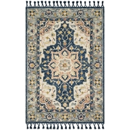 Magnolia Home Kasuri Rug by Joanna Gaines - Blue & Multi