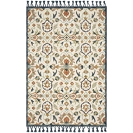 Magnolia Home Kasuri Rug by Joanna Gaines - Ivory & Multi