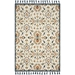 Magnolia Home Kasuri Rug - Ivory & Multi by Joanna Gaines