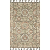 Magnolia Home Kasuri Rug by Joanna Gaines - Sand & Multi