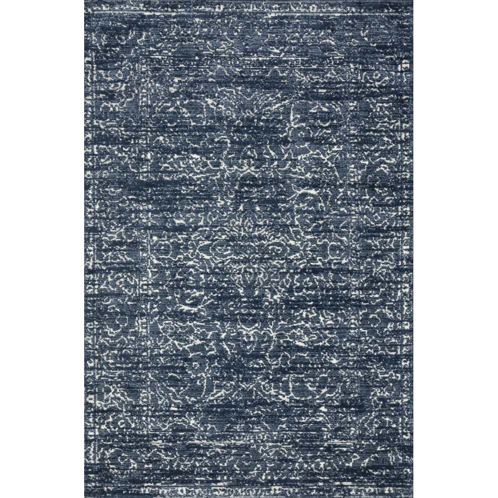 Magnolia Home Lotus Rug - Blue & Cream by Joanna Gaines