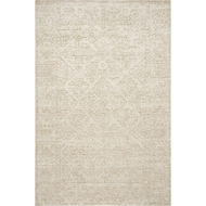 Magnolia Home Lotus Rug by Joanna Gaines - Ivory & Cream