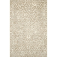 Magnolia Home Lotus Rug by Joanna Gaines - Sand & Ivory