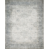 Magnolia Home Lucca Rug by Joanna Gaines - Mist & Ivory