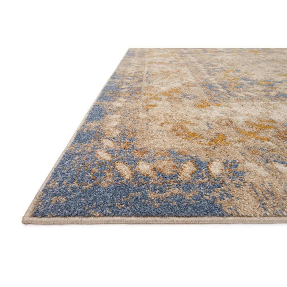 Magnolia Home Trinity Rug by Joanna Gaines - Blue And Sand