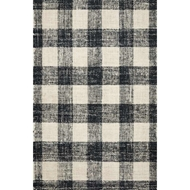 Magnolia Home Crew Rug - Black & Natural by Joanna Gaines