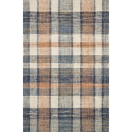 Magnolia Home Crew Rug - Terracotta & Multi by Joanna Gaines