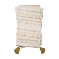 Magnolia Home by Joanna Gaines Lucy Ivory & Blush Throw Blanket LUCYT1035IVBHTH01