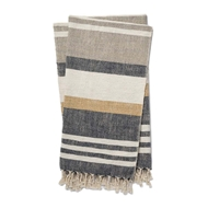 Magnolia Home by Joanna Gaines Maye Charcoal & Multi Throw Blanket MAYET1036CCMLTH01