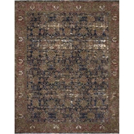 Magnolia Home Kennedy Rug - Blue & Multi by Joanna Gaines