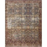 Magnolia Home Kennedy Rug by Joanna Gaines - Denim & Brick
