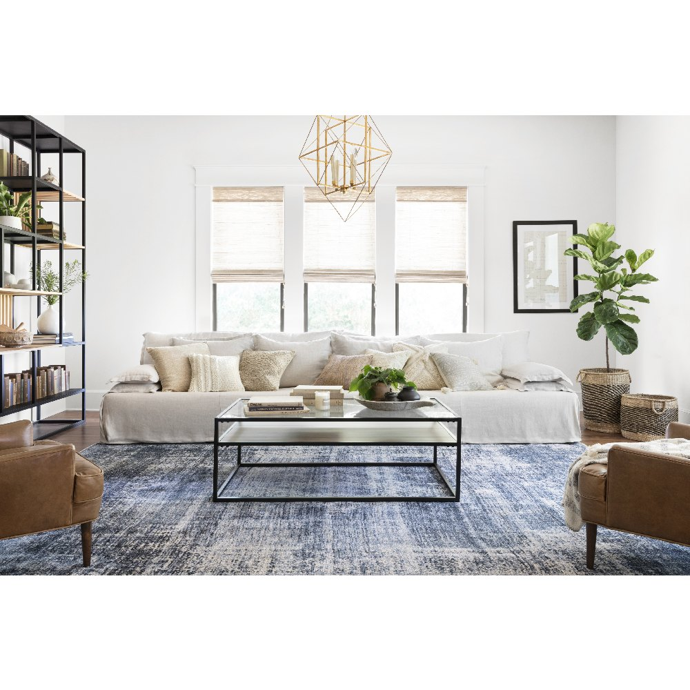 Magnolia Home Kennedy Rug - Denim & Denim by Joanna Gaines