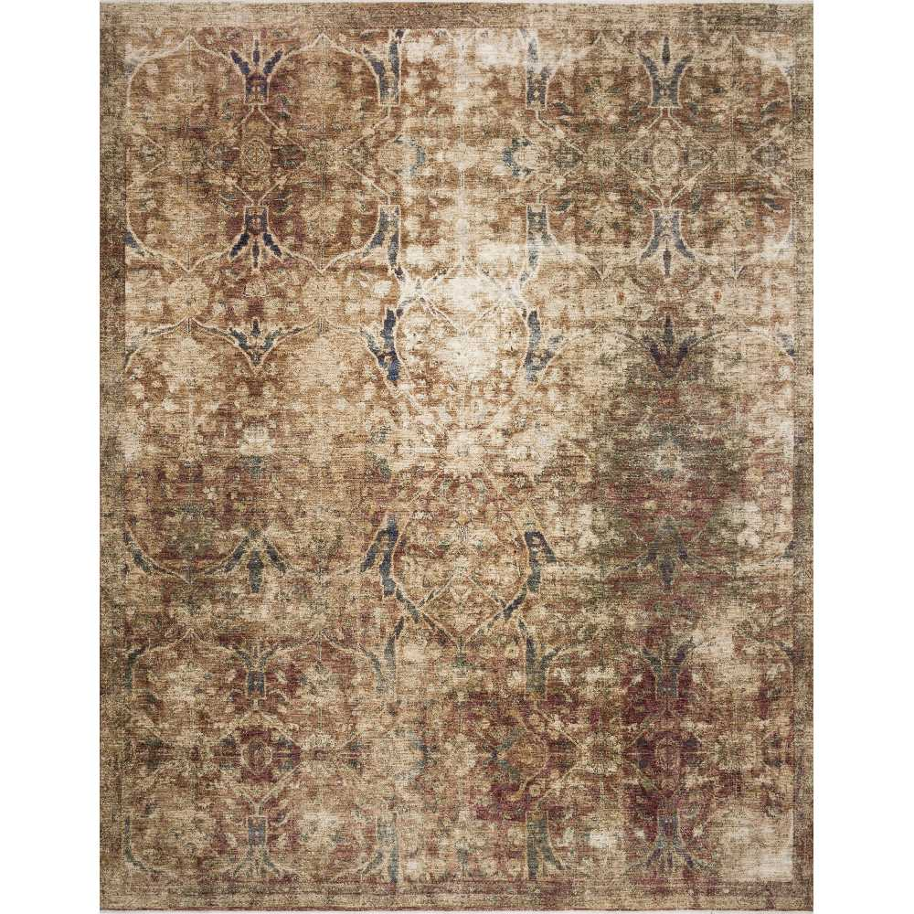 Magnolia Home Kennedy Rug - Rust & Multi by Joanna Gaines