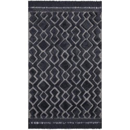 Magnolia Home Laine Rug - Grey & Charcoal by Joanna Gaines