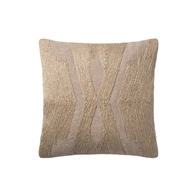 Magnolia Home by Joanna Gaines Taupe Pillow P1103 - Designer Pillow