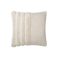Magnolia Home by Joanna Gaines Ivory Pillow P1104 - Designer Pillow
