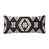 Magnolia Home by Joanna Gaines Indigo & Ivory Pillow P1105 - Designer Pillow
