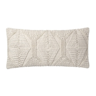 Magnolia Home by Joanna Gaines Ivory Pillow P1107 - Designer Pillow
