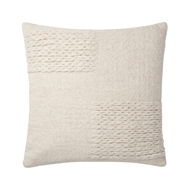 Magnolia Home by Joanna Gaines Ivory Pillow P1110 - Designer Pillow