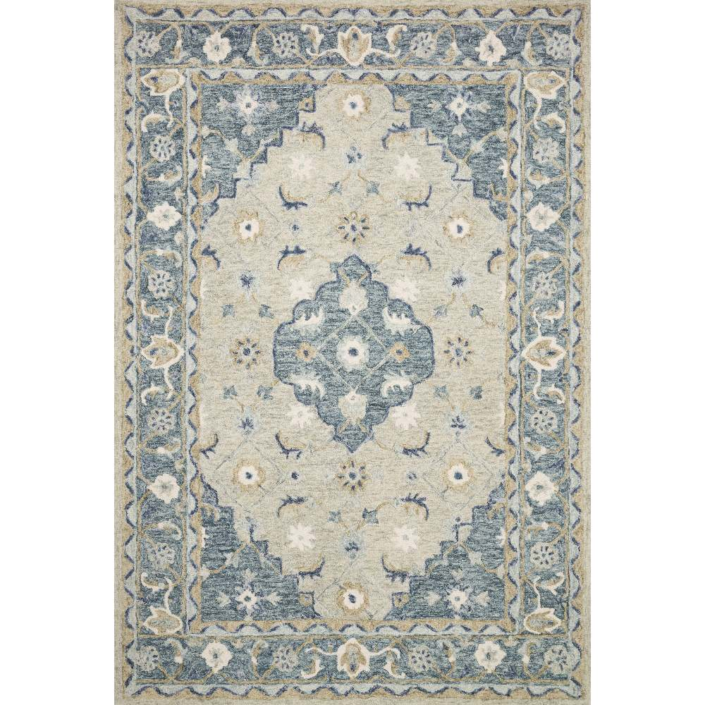 Magnolia Home Ryeland Rug - Grey & Blue by Joanna Gaines