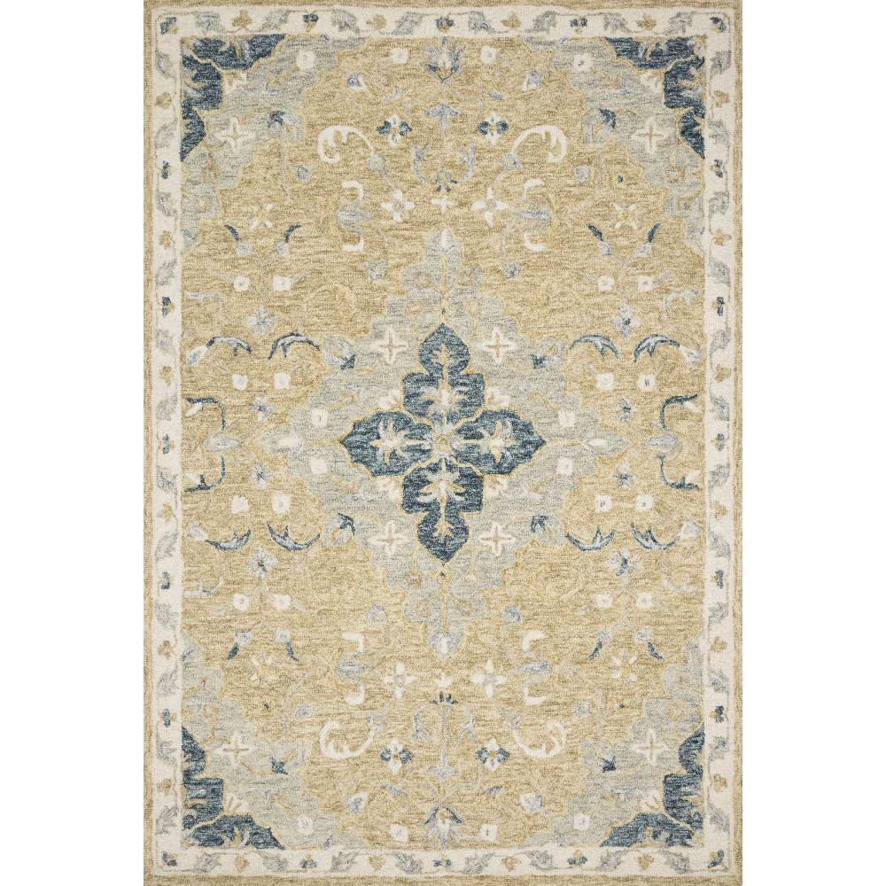 Magnolia Home Ryeland Rug - Wheat & Multi by Joanna Gaines