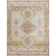 Magnolia Home Graham Rug - Antique Ivory & Multi by Joanna Gaines