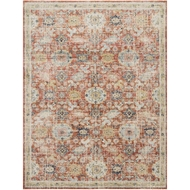 Magnolia Home Graham Rug - Persimmon & Multi by Joanna Gaines