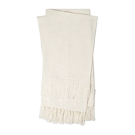 Magnolia Home by Joanna Gaines Jovi Ivory Throw Blanket JOVIT1037IV00TH01