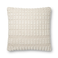 Magnolia Home by Joanna Gaines Natural & Ivory Pillow P1119 - Designer Pillow