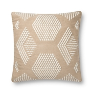 Magnolia Home by Joanna Gaines Sand & Ivory Pillow P1120 - Designer Pillow