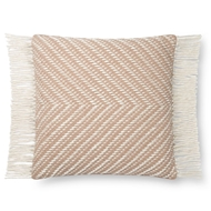 Magnolia Home by Joanna Gaines Blush & Ivory Pillow P1121 - Designer Pillow