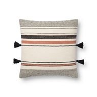 Magnolia Home by Joanna Gaines Terracotta & Multi Pillow P1123 - Designer Pillow