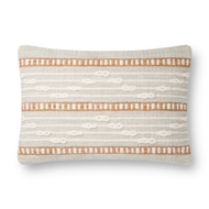 Magnolia Home by Joanna Gaines Grey & Multi Pillow P1124 - Designer Pillow
