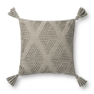 Magnolia Home by Joanna Gaines Grey Pillow P1126 - Designer Pillow