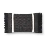 Magnolia Home by Joanna Gaines Black Pillow P1128 - Designer Pillow