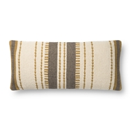 Magnolia Home by Joanna Gaines Gold Natural Pillow P1132 - Designer Pillow
