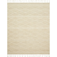 Magnolia Home Cora Rug - Ivory & White by Joanna Gaines