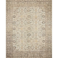 Magnolia Home Deven Rug - Cream & Latte by Joanna Gaines