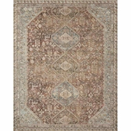 Magnolia Home Deven Rug - Spice & Sky by Joanna Gaines