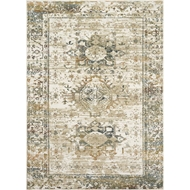 Magnolia Home James Rug - Ivory & Multi by Joanna Gaines