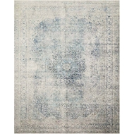 Magnolia Home Lucca Rug - Sky by Joanna Gaines