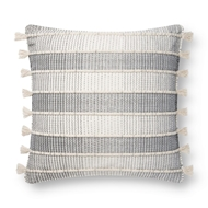 Magnolia Home by Joanna Gaines Natural & Grey Pillow P1136 - Designer Pillow