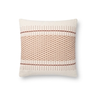 Magnolia Home by Joanna Gaines Blush&Multi Pillow P1138 - Designer Pillow