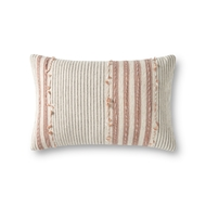 Magnolia Home by Joanna Gaines Natural & Blush Pillow P1139 - Designer Pillow