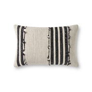 Magnolia Home by Joanna Gaines Natural & Black Pillow P1139 - Designer Pillow